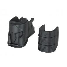 AR15/M4 серия - накладка на магазиноприемник Magwell ergonomic KUBLAI - черная