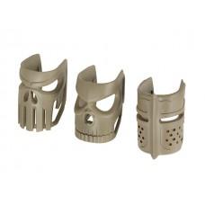 AR15/M4  сменные накладки на магазиноприемник 3 шт.  Magwell KUBLAI - DE