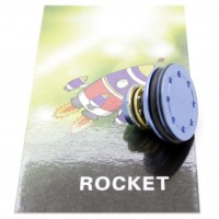 Голова поршня Rocket алюминий 2 резинки