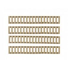 "Комплект накладок на ців'я типу ""Драбинка"" DE (4 штуки)"