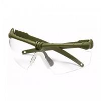 Окуляри тактичні Olive | Прозора лінза PJ