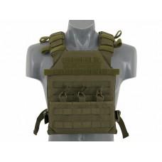 Плитоноска Assault Plate Carrier с плитами SAPI Olive 8FIELDS