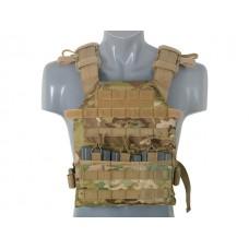 Плитоноска Assault Plate Carrier с плитами SAPI Multicamo 8FIELDS