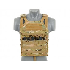 Плитоноска Jump Plate Carrier V2 (Size Large) Multicamo 8FIELDS