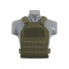 Плитоноска Simple Plate Carrier with Dummy Soft Armor Inserts Olive 8FIELDS
